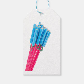 Group fire arrows for New years eve Gift Tags