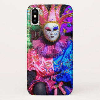 Group In Carnival Costume, Venice iPhone X Case