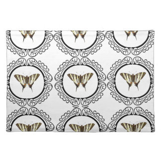 group of butterflies placemat