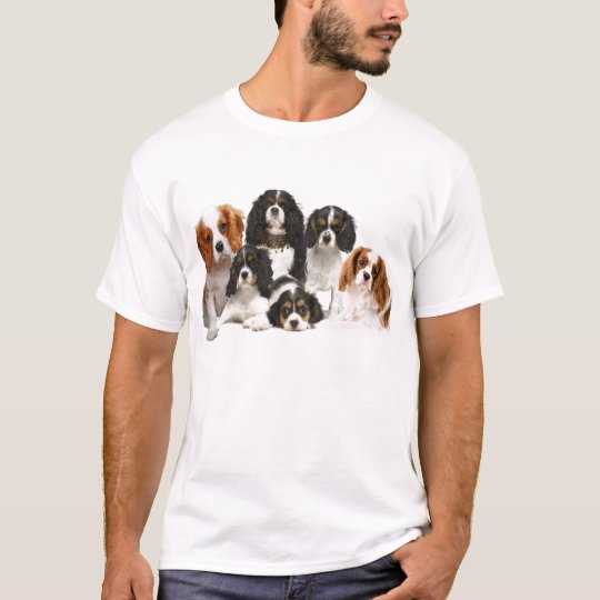 Group of Cavalier King Charles Spaniels T-Shirt