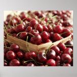 Group of cherries in punnett poster
