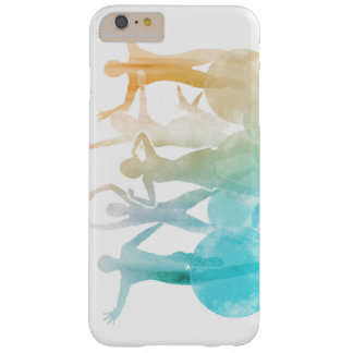 Group of Friends Jumping for Joy in Watercolor Barely There iPhone 6 Plus Case