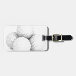 Group of golf balls luggage tag