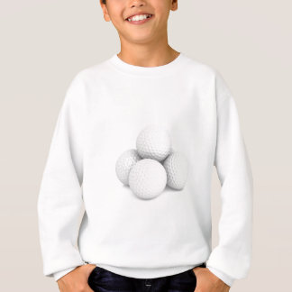 Group of golf balls sweatshirt