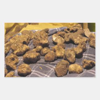 Group of italian expensive white truffles sticker