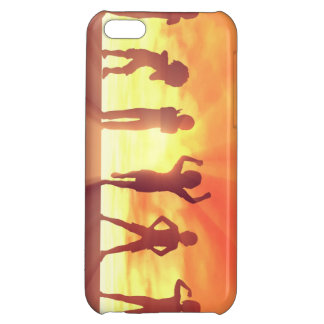 Group of Kids Having Fun as a Abstract Background Cover For iPhone 5C