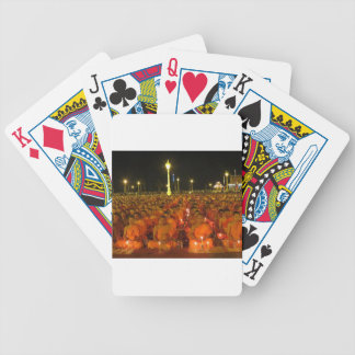 Group of Meditators, India Bicycle Playing Cards