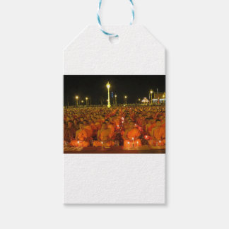 Group of Meditators, India Gift Tags