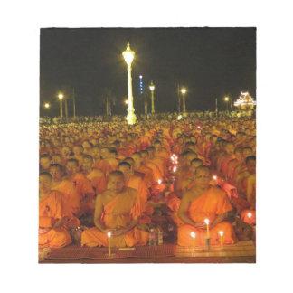 Group of Meditators, India Notepad
