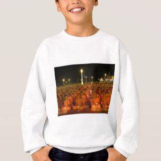 Group of Meditators, India Sweatshirt