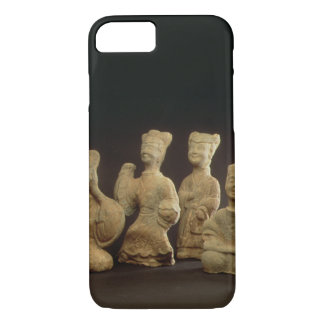 Group of Musicians, Dancers and Servants (terracot iPhone 7 Case