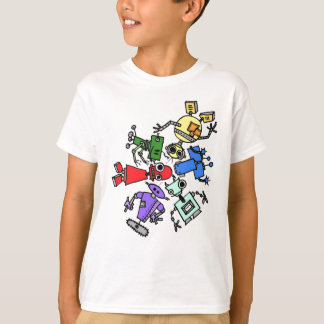 Group of robots 2 T-Shirt