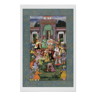 Group of Whirling Dervishes, from the Large Clive Poster