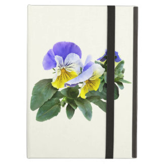 Group Of Yellow And Purple Pansies iPad Air Case