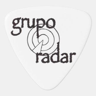 Group Radar Guitar Pick