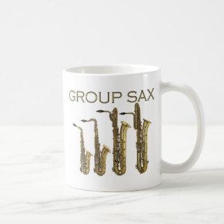 Group Sax Coffee Mug