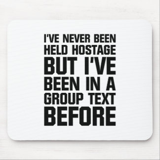 Group Text Mouse Pad