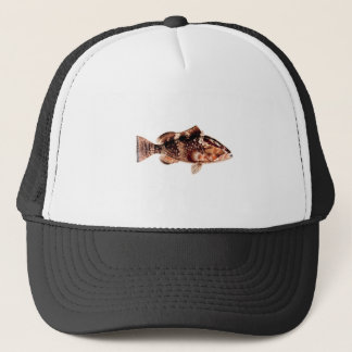 Grouper Fish Trucker Hat