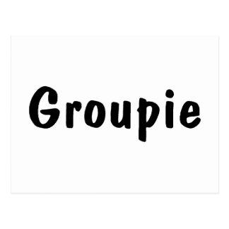 Groupie Postcard