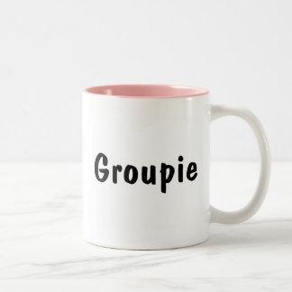 Groupie Two-Tone Coffee Mug