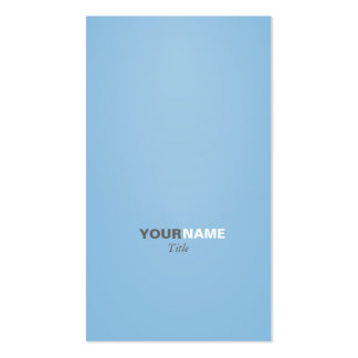 Groupon Modern font Placid Blue Business Card Template