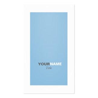 Groupon Placid Blue Business Card