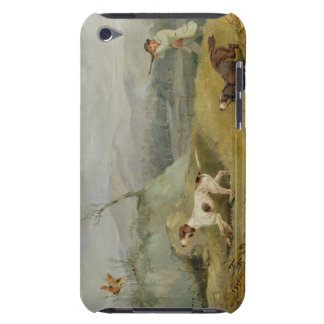 Grouse Shooting (oil on canvas) iPod Touch Cover