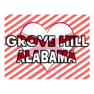 Grove Hill, Alabama Postcard