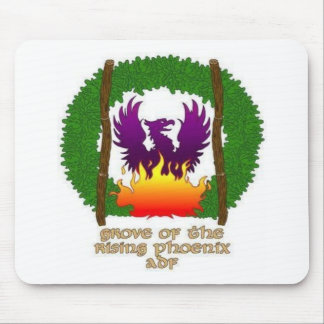 Grove logo with text mouse pad