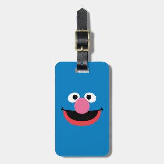 Grover Face Art Bag Tag