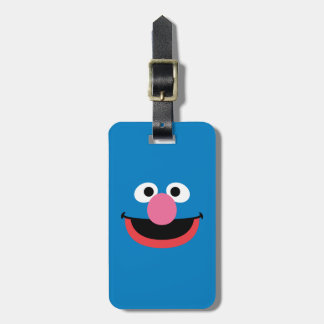 Grover Face Art Luggage Tag