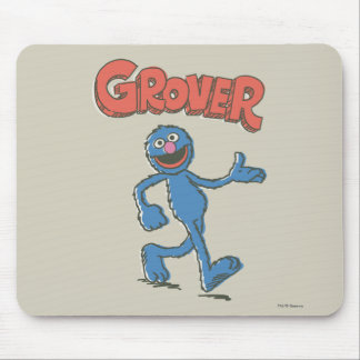 Grover Vintage Kids 2 Mouse Pad