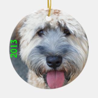 Grover (Wheaten Terrier)1 Ceramic Ornament