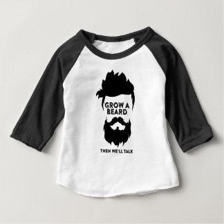 Grow a beard then we will talk baby T-Shirt