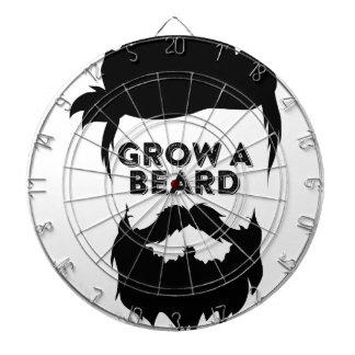 Grow a beard then we will talk dartboard