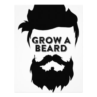 Grow a beard then we will talk letterhead