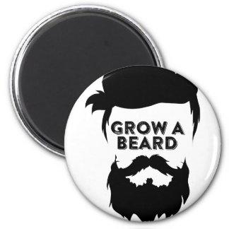 Grow a beard then we will talk magnet