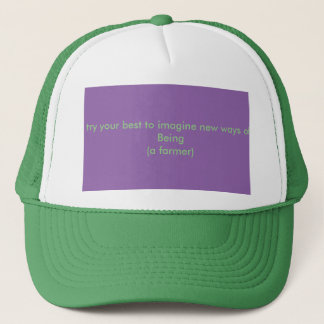 grow a new subjectivity trucker hat