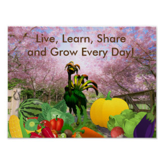 Grow Every Day Voyager Poster
