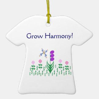 Grow Harmony Butterfly Music Garden Christmas Ornament