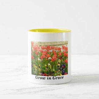 Grow in Grace Two-Tone Coffee Mug