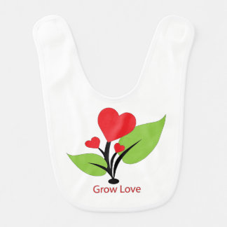 Grow Love Bib