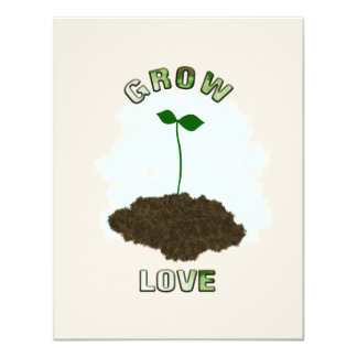 Grow love invitation
