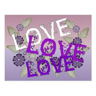 Grow Love Postcard