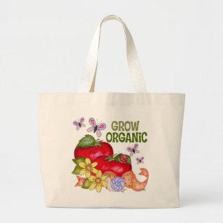 Grow Organic Tote Bag