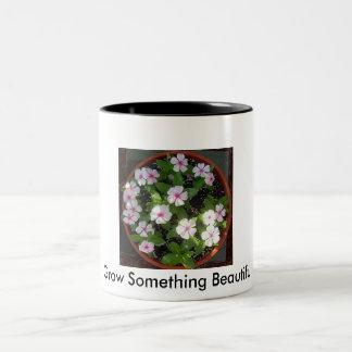 Grow Something Beautiful! Pot Of Flowers Mug