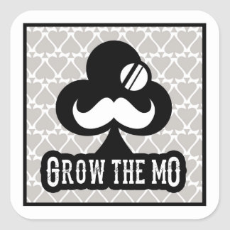 Grow The Mo - Stickers - Clubs Edition