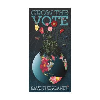 Grow The Vote - Canvas Print
