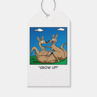 Grow Up! Pack Of Gift Tags