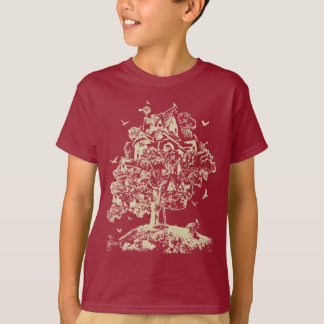 Grow Up Treehouse Shirt for Kids